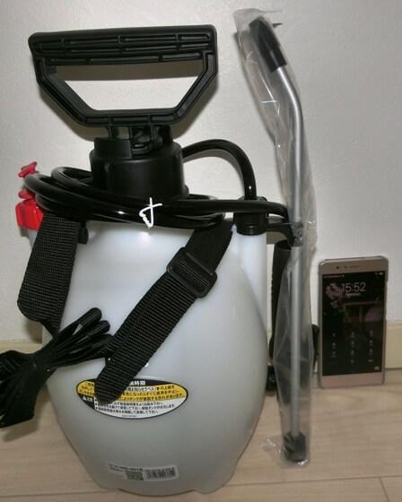 蓄圧式噴霧器はクルマ磨きのパートナーだ!