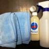 次世代型洗車溶剤MUSUIを使って水なし洗車をしてみた!